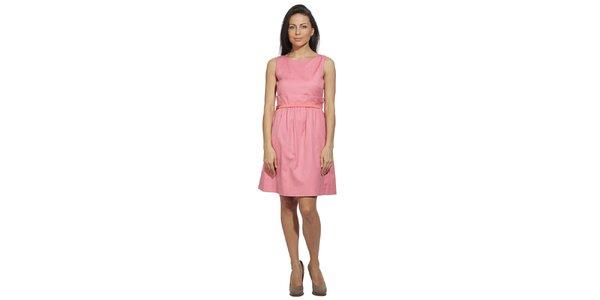 Dámske šaty vo farbe ružového keru Red Valentino