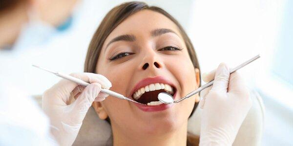 Kompletná dentálna hygiena alebo bielenie zubov