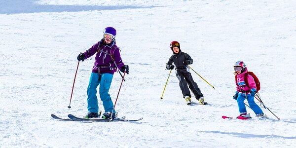 Celodenný skipas do lyžiarskeho strediska Lučivná