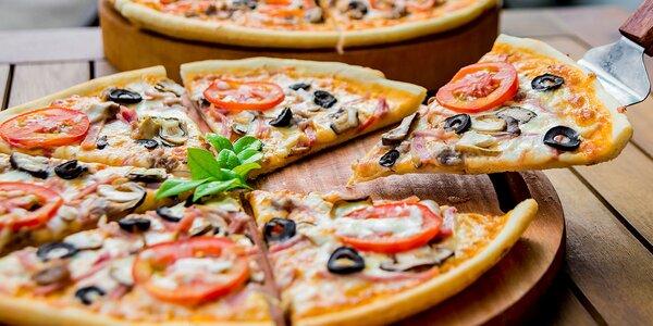 Pizza podľa výberu až z 26 druhov v pizzerii Modena