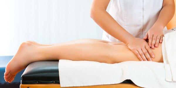 Lymfodrenáž alebo intenzívna anticelulitídová masáž