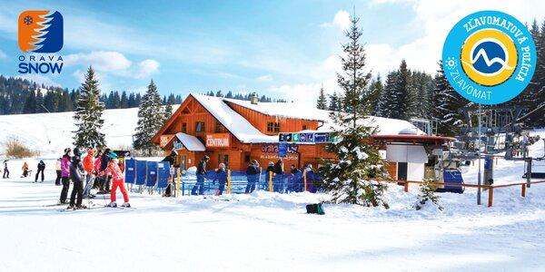 Celodenný skipas do Ski centra ORAVA SNOW