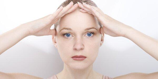 Individuálne cvičenie tvárovej gymnastiky