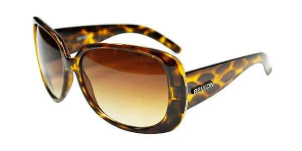 Dámske leopardie slnečné okuliare Revlon