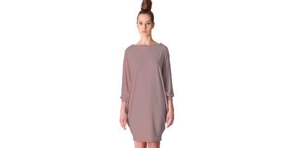 Dámske šaty Yuliya Babich vo farbe cappuccina