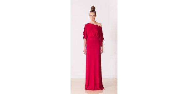 Dámske ohnivo červené večierne šaty Yuliya Babich