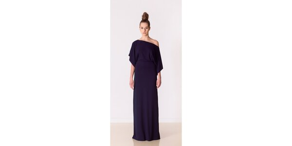 Dámske temne modré večierne šaty Yuliya Babich