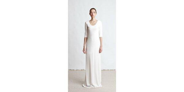 Dámske dlhé krémové šaty Yuliya Babich