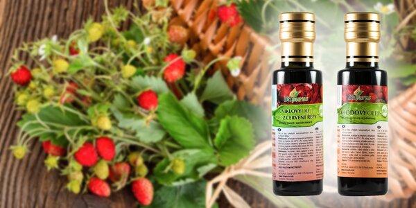 Cviklový či jahodový bio-olej