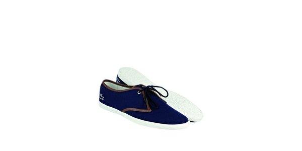 Pánske indigovo modré tenisky Lacoste