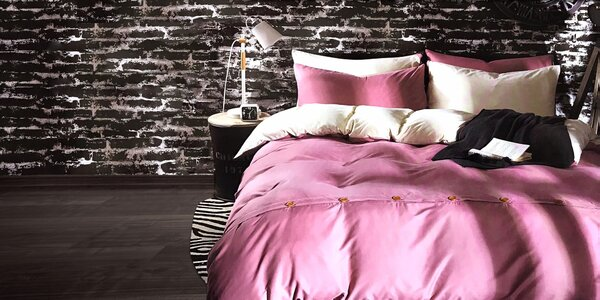 7-dielna súprava posteľných obliečok