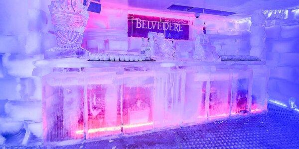 Ochutnajte skvelé drinky v jedinečnom ICE BARE!