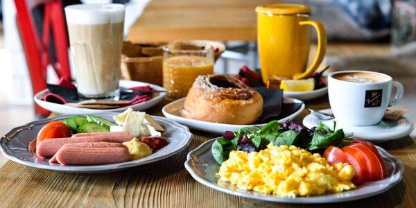 Tri druhy raňajkových menu vo Wcafe