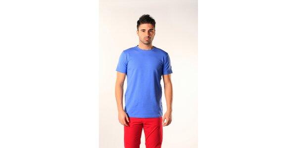 Pánske svetlo modré tričko s krátkym rukávom SixValves