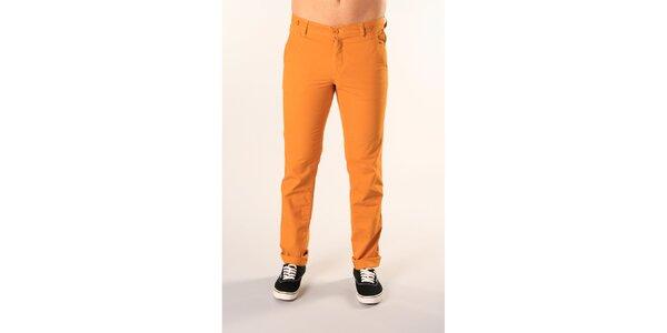 Pánske oranžové nohavice SixValves
