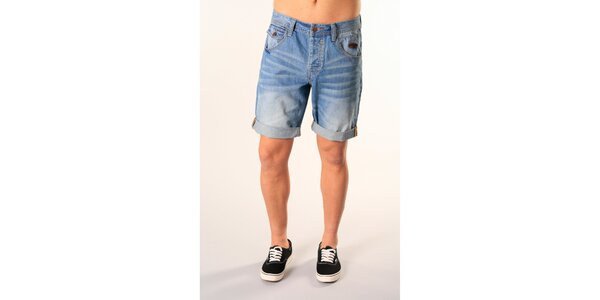 Pánske džínsové bermudy SixValves