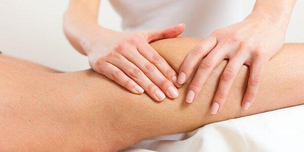 Lymfodrenáž alebo masáž chrbta a chodidiel