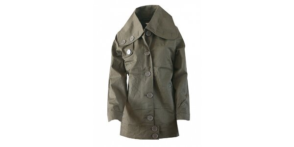 Dámsky khaki kabátik Fundango