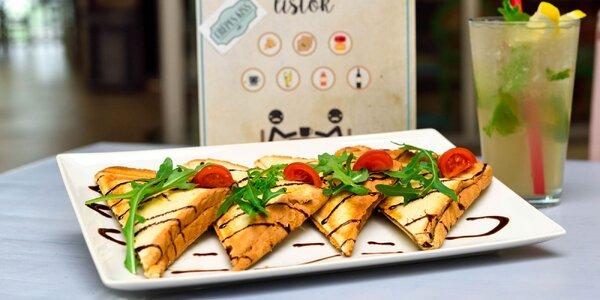 Francúzske toasty v kaviarni Crepes Kiss!