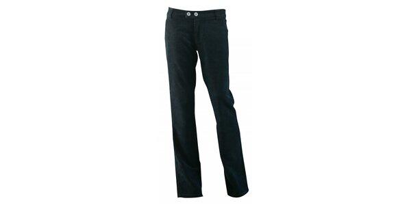 Dámske čierne menčestrové nohavice Fundango