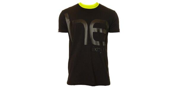 Pánske čierne tričko s krátkym rukávom Head