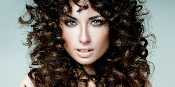 Rekonštrukčná vlasová kúra, strih, farbenie