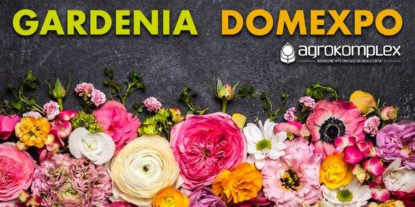 Prednostný lístok na GARDENIA a DOMEXPO 2017
