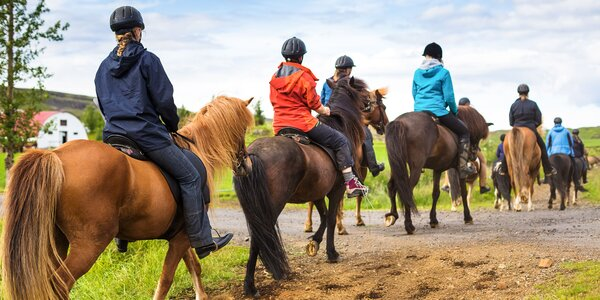 Jazda na koni pre jednu alebo dve osoby