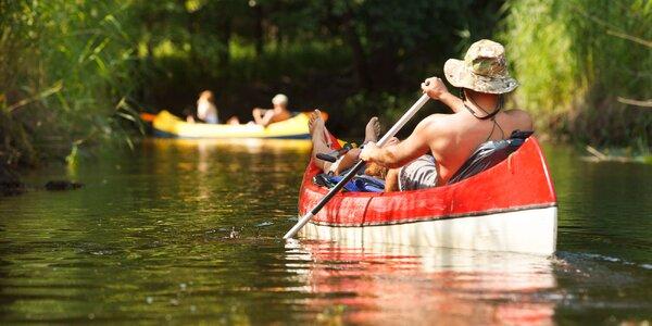 Splav Malého Dunaja na kanoe