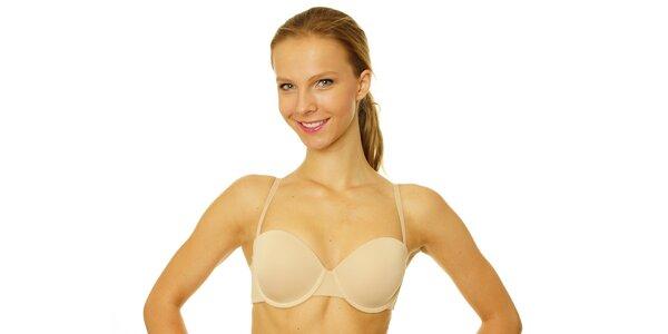 Dámska telová podprsenka s odopínateľnými ramienkami Skiny