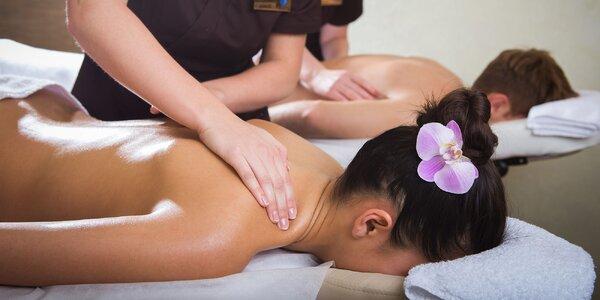 Výber z thajských masáží. Aj pre páry!