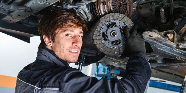 Výmena spojky a brzdových kotúčov v Autoclinik