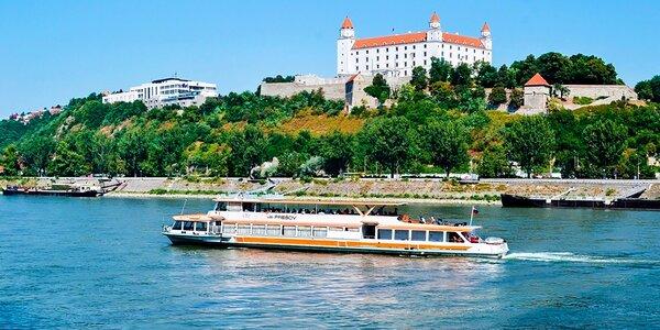 Plavba po Dunaji až na Devín