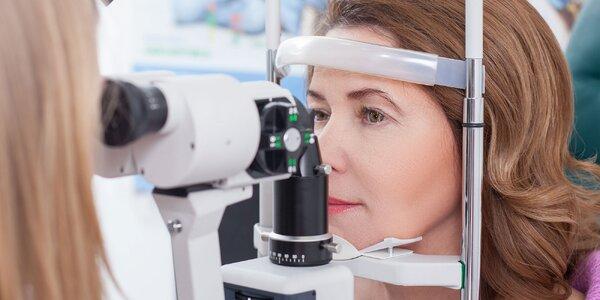 Vyšetrenie ostrosti zraku s výrobou okuliarov