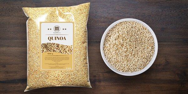 Bezlepková a výživná Quinoa biela