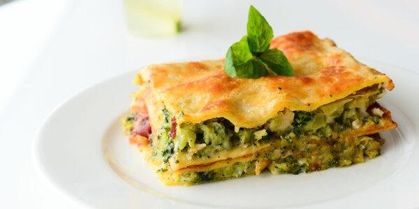 Tvarohové alebo brokolicové lasagne