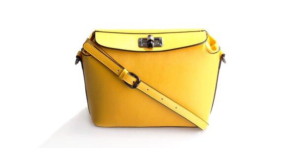 Dámska horčicová kabelka Belle&Bloom