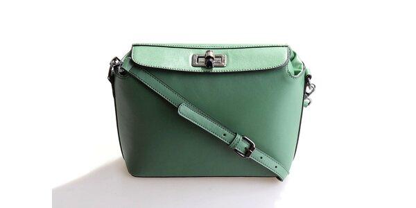 Dámska zelená kabelka Belle&Bloom