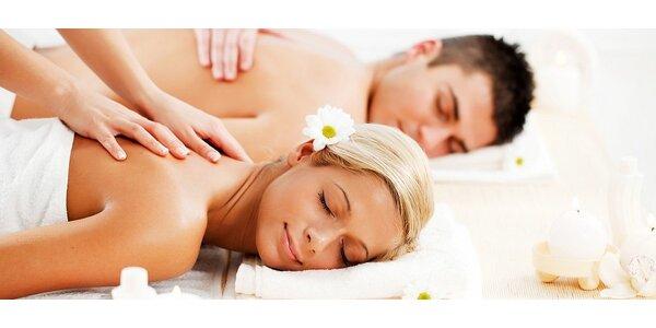 Relaxačná a uvoľňujúca masáž s BIO olejom