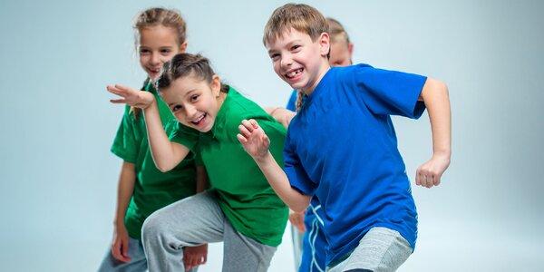 Tanečno-športové tábory pre pohyblivé deti