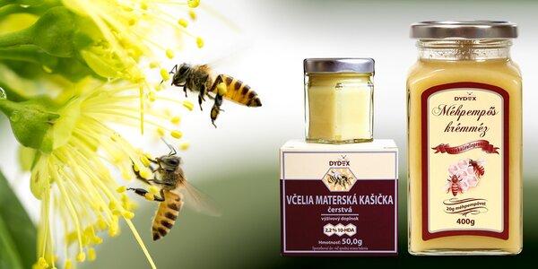 Včelia materská kašička: prírodné posilnenie organizmu