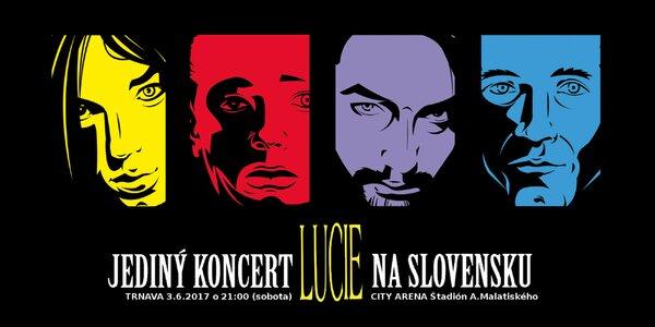 LUCIE! Jediný koncert kapely na Slovensku v roku 2017!