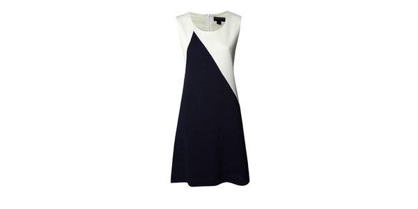 Dámske modro-biele šaty Fever
