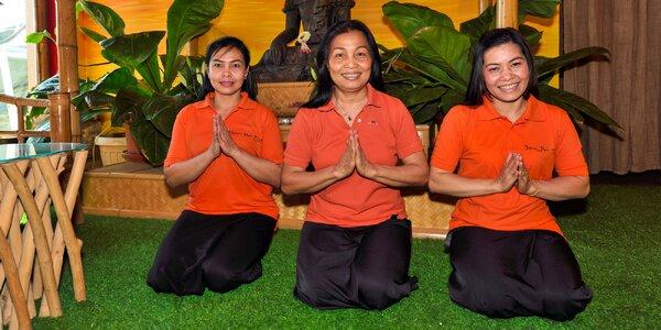 Thajské masáže s možnosťou výberu procedúry