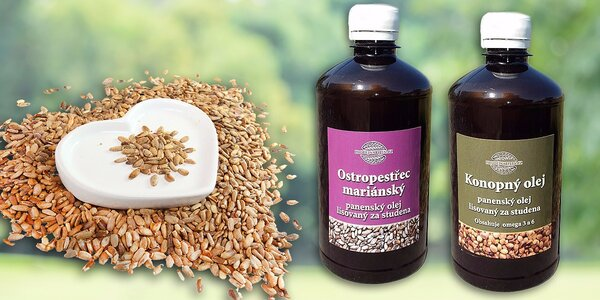 Konopný alebo pestrecový olej pre vaše zdravie