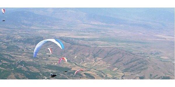 Paraglidingové zoznamovacie školenie