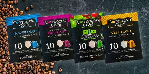 Kapsule Nespresso pre výbornú kávu!