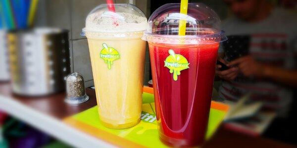 Čerstvé ovocné šťavy,príjemné letné osvieženie