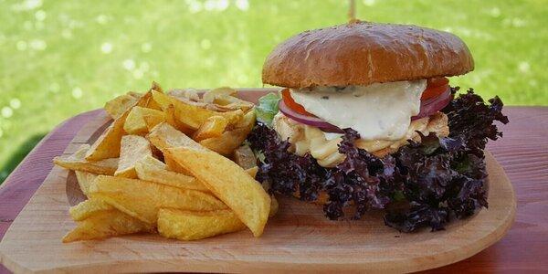 Štyri druhy poctivých slovenských burgerov