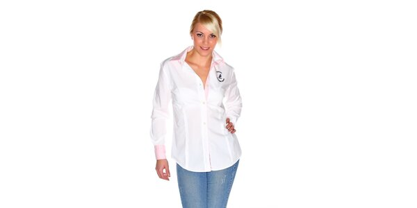 fc42fac104 Dámska biela košeľa M. Conte